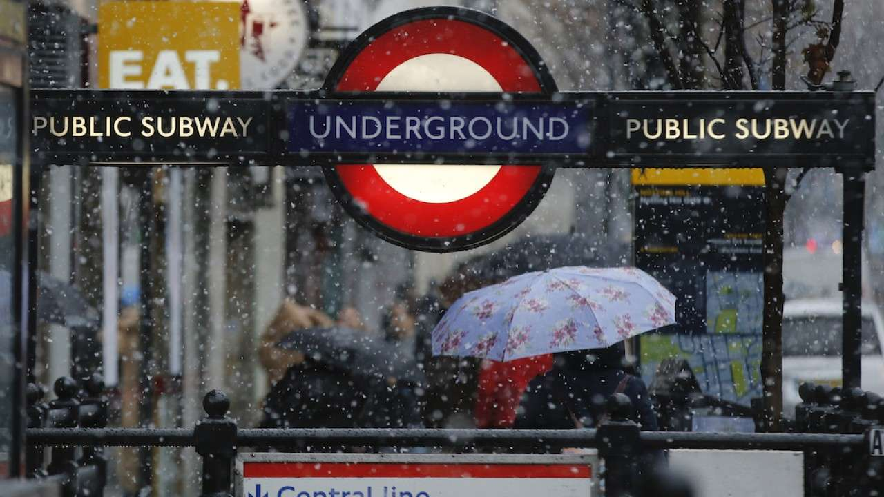 Dozens of stations on the London Underground subway system have been closed as the city's mayor urges people in the city to restrict travel amid the COVID-19 pandemic.