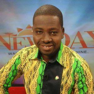 TV3 journalist Edward Kwabi Jnr