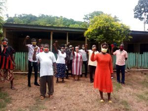 Covid-19 Fight: Mavis Ama Frimpong Making Strides With Her 'Community Action Against Covid-19' Project