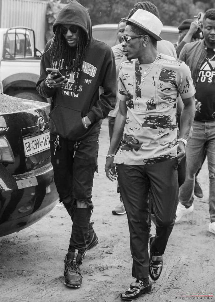One of the sacked members of the SM Militants, Addi Self, has rendered an apology to his former mentor and friend, Shatta Wale and begged him to reconsider his decisions.
