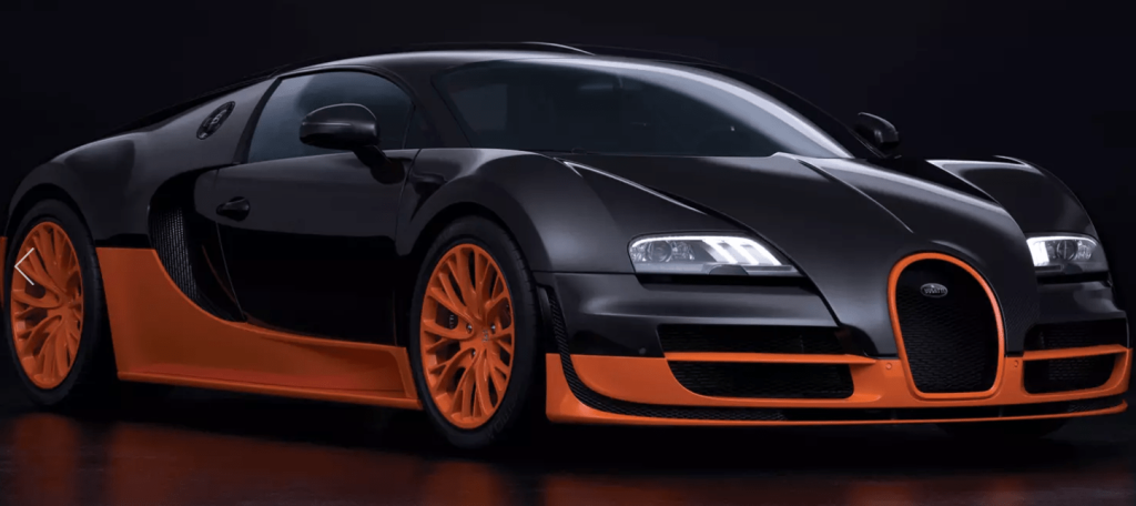 BUGATTI VEYRON SUPER SPORT - THE SUPER SPORT VERSION OF THE VEYRON 16.4