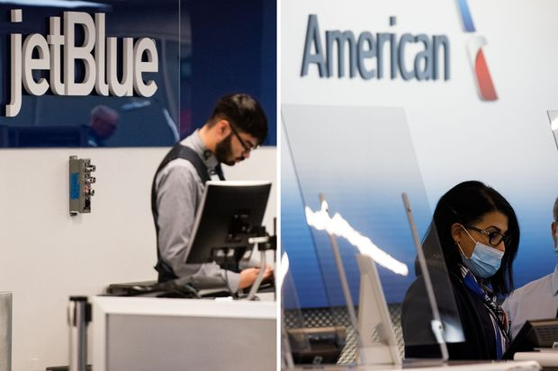 American Airlines and JetBlue Are Merging Up