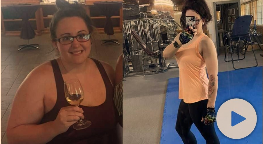 A New Mexico woman is feelingstronger than everafter embracing exercise and losing 125 pounds in just one year. Thefitness fanatic now shuns soda — as she used to drink eight cans each day — and follows a more balanced diet to fuel her workoutsand healthier lifestyle. She skipped the soda, and changed her life.