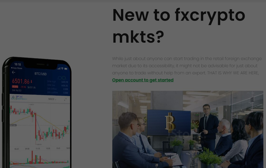 Fx Crypto Mkts is a scam. about 70 percent of the withdrawal proofs you are see are from guys who affiliate with the scammers. You invest at your own risk.
