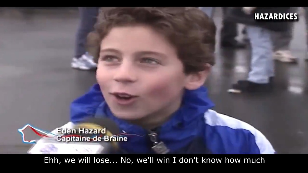 Vide: Chelsea fan shares hilarious clip of Eden Hazard's 'first interview as a kid'