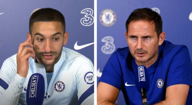 Frank Lampard discloses the problem with Hakim Ziyech at Chelsea