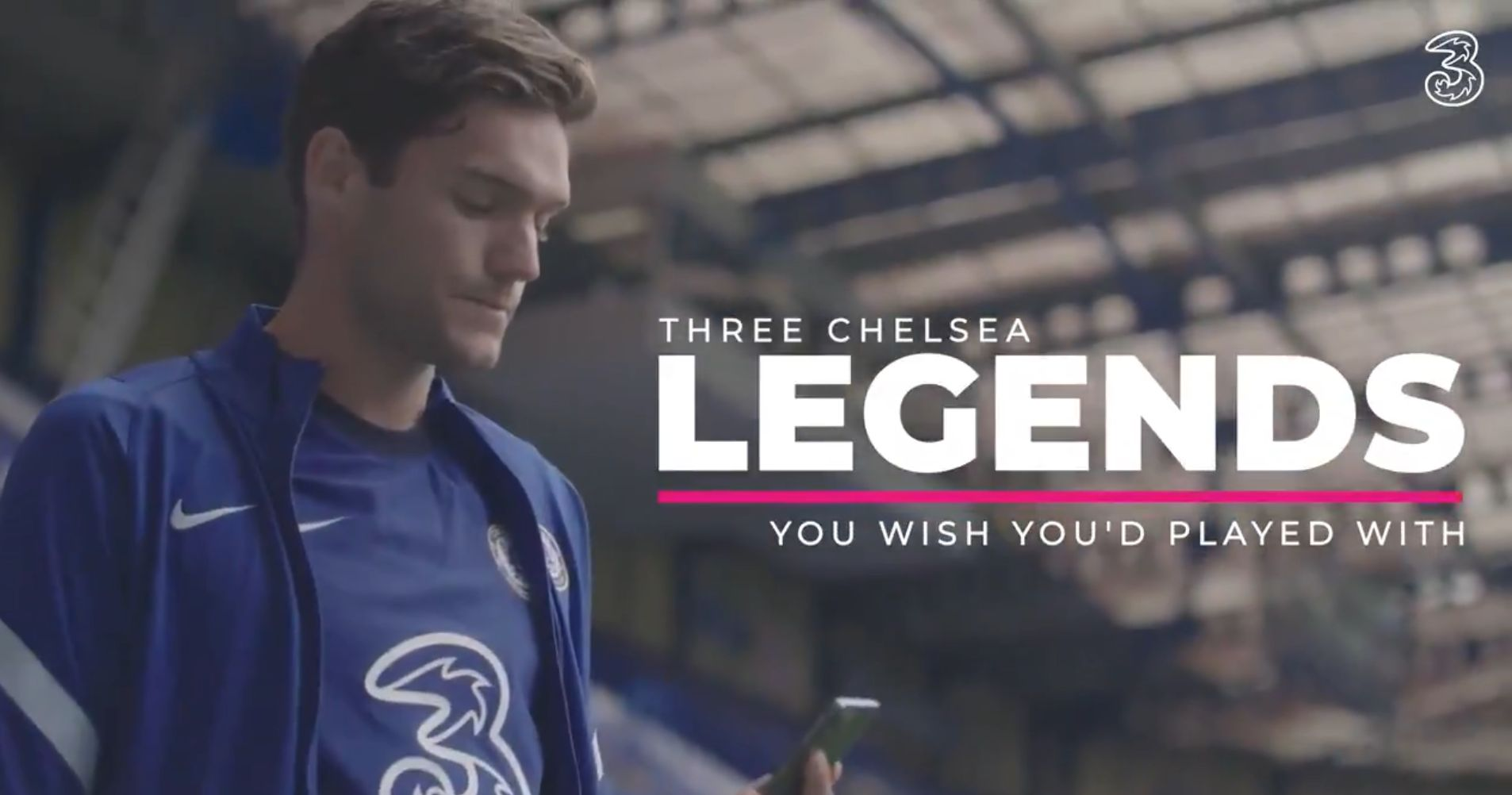 Video: Chelsea players name the 3 legends they would have liked to play with