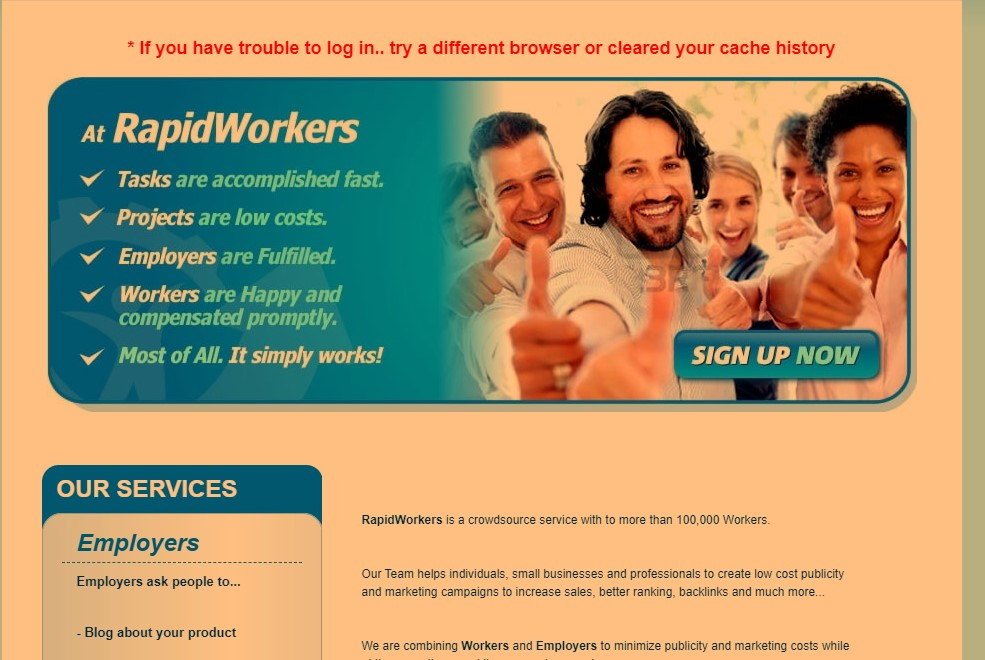 Working on Rapidworkers is almost same as Picoworkers however, for the benefit of the Picoworkers vs Rapidworkers review, we will make it short and snappy.
