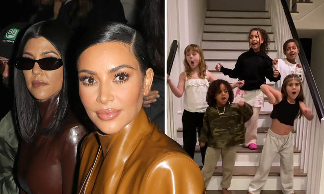 Kourtney Kardashian's ex-boyfriend Scott Disick shared a video of his daughter Penelope performing a ceremonial New Zealand dance alongside Kim Kardashian's Saint and North children and two other children.