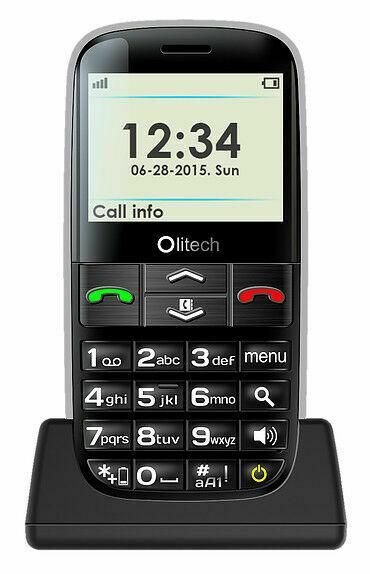 Olitech EasyMate+ 3G OLT2914 - 512MB - Black Mobilephone