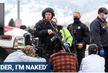 Boulder gunman yelled to police, 'I surrender, I'm naked,' after massacre: witness