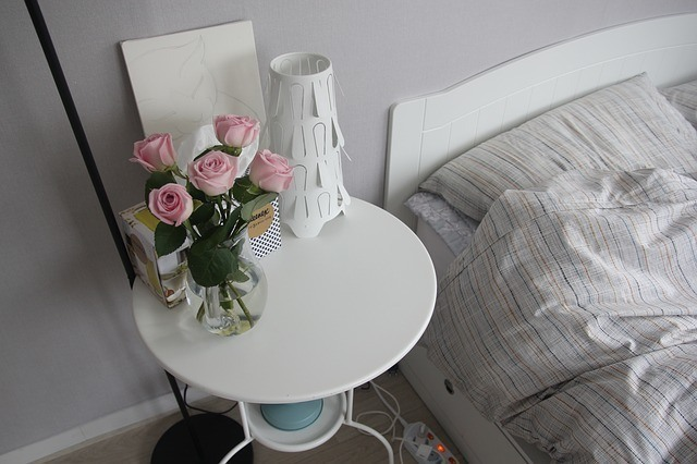 Fresh flowers in home