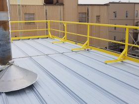 Safety First, Always Use Guardrails When Working On a Roof