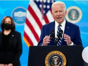 President Biden lashes out at 2nd Amendment advocates in first major gun control push