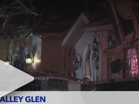 Valley Glen explosion leaves 2 men hospitalized