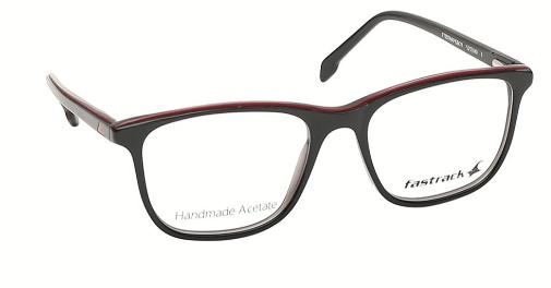1.   Verve Black Wayfarer Rimmed Eyeglasses from Fastrack