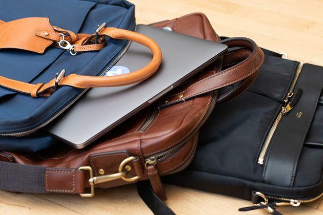 Briefcase like bag