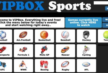 What is VIPbox? According to some, Vipbox is the best streaming site in the world, as it broadcasts almost every major sports and entertainment event around the world. You must go to the website and watch live sporting events on your computer or mobile device. You can watch golf streams, football streams, ice hockey streams, basketball streams, and so on. VIP Box covers all major sporting events and provides a live stream for everyone. Vip box entertains its users by providing free streams from all over the world. Now, let's take a look at some of the most popular major sporting events that vip box streams for fans.