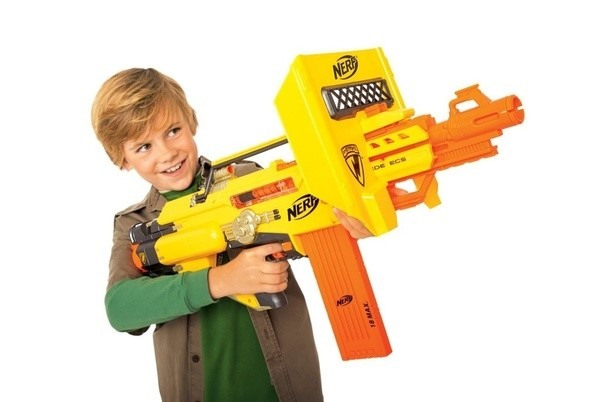 Few nerf guns are mighty to use, and they can cause injury if a kid uses them. This is why the age group mentioned on the packaging must be seen before the purchase to avoid any harmful injury to the child.
