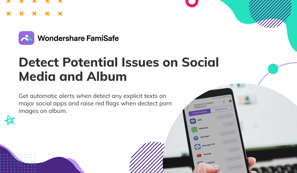with the FamiSafe parental control app, you can filter the apps they are using. If you feel some of the apps, they are using are inappropriate for them. Else they are not mature enough to deal with it you can block the app so that they won't be able to use it again.