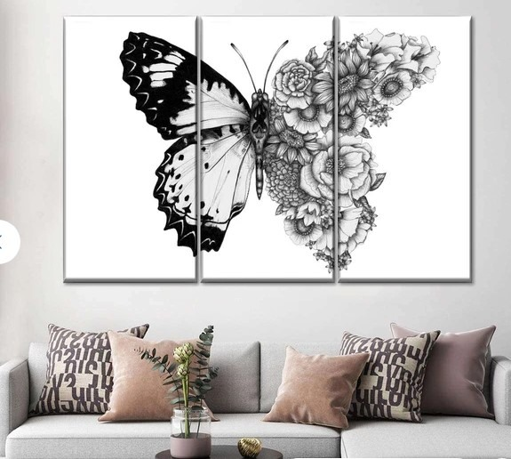 It is good to place a beautiful piece of art in an all-white scheme. It will create a focal point in a room so your room will not look just like a sea of white.  Art pieces are one of the simplest ways to create a style statement. So, pick stylish and oversized living room wall art to draw the eye. It does not negatively impact the neutral color scheme.