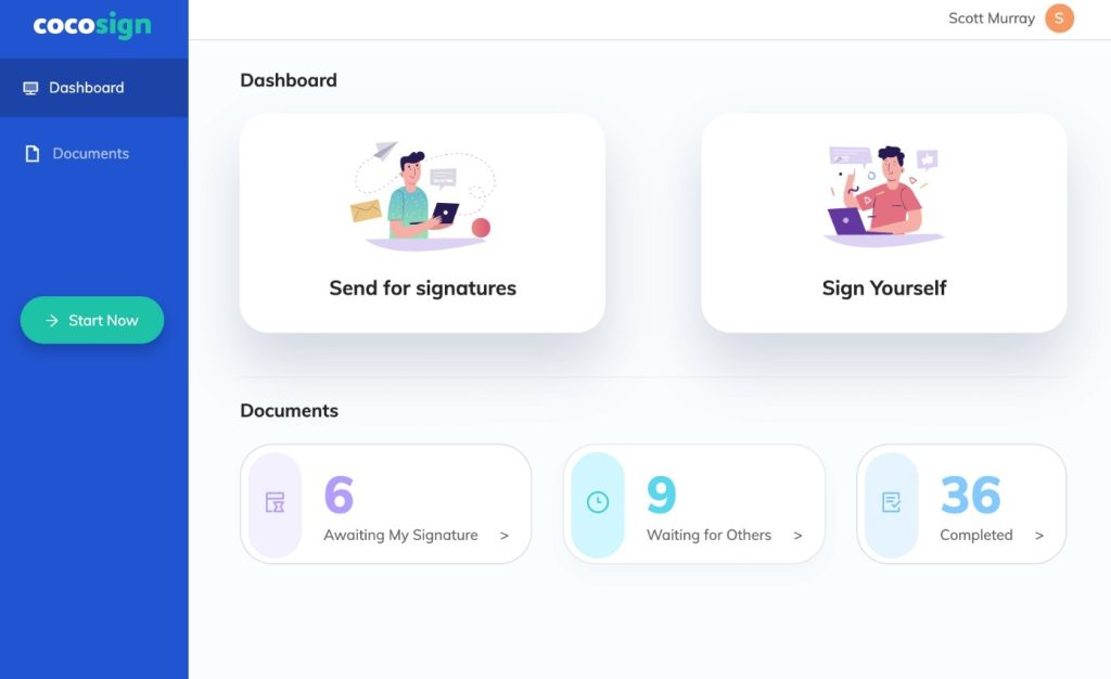 CocoSign is the service that is on the mission to digitize businesses. Whatever size is the business of, it doesn't matter as CocoSign has something for all. People worldwide are getting benefitted from its services and totally appreciating the services it is providing.