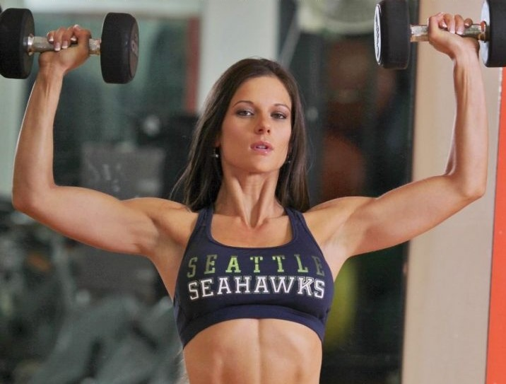Mandy Flores Training Pictures