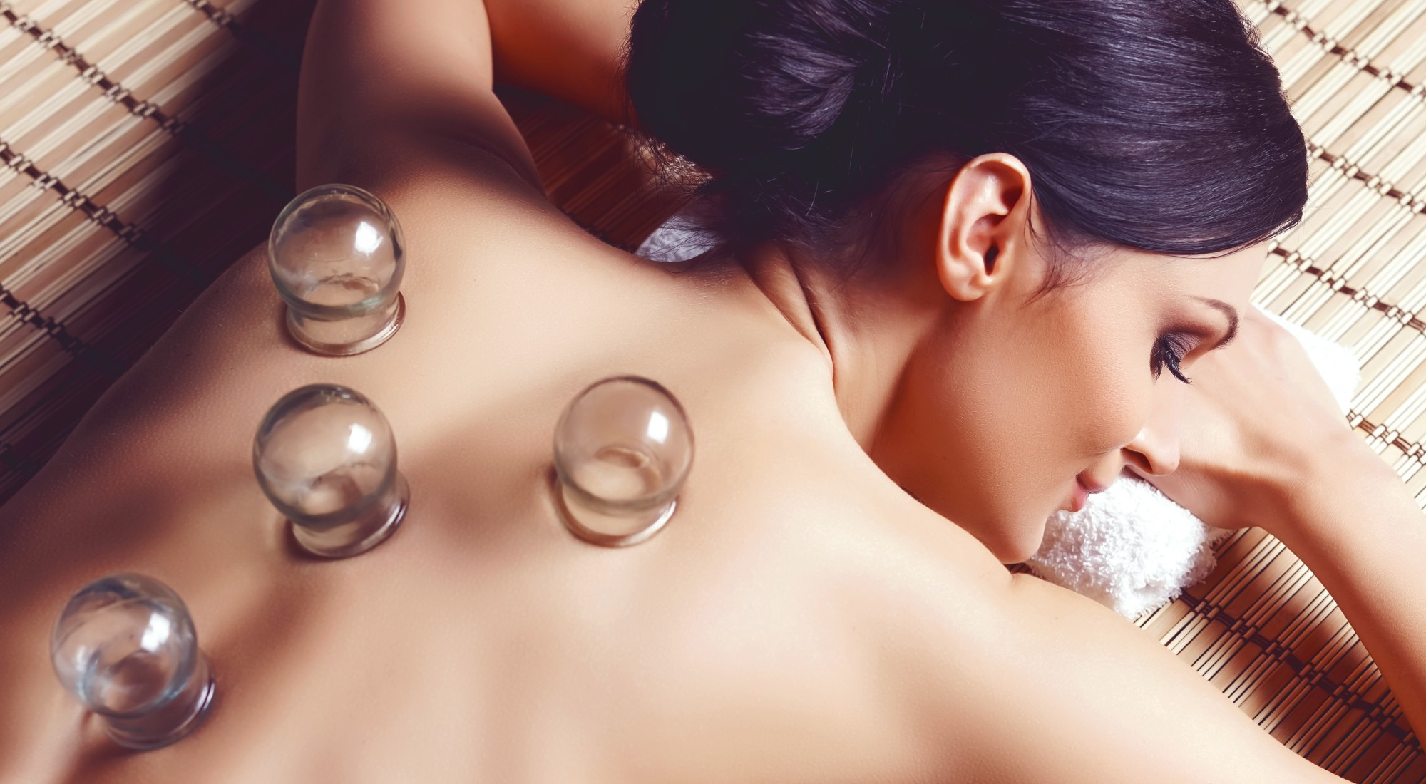Young and beautiful woman in spa. Health and beauty concept.
