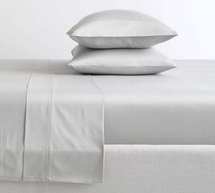 The sateen fabric requires more than three or four yarns on its weave. It gives them a different look and feel. Its presence tends to have a subtle glow. Satin sheets are naturally wrinkle resistant which gives a sleek look without ironing. These sheets are somewhat heavier than percale which makes them more convenient and comfortable. However, it gets cold at night which gives it some extra heat. It will not be good for hot sleepers.