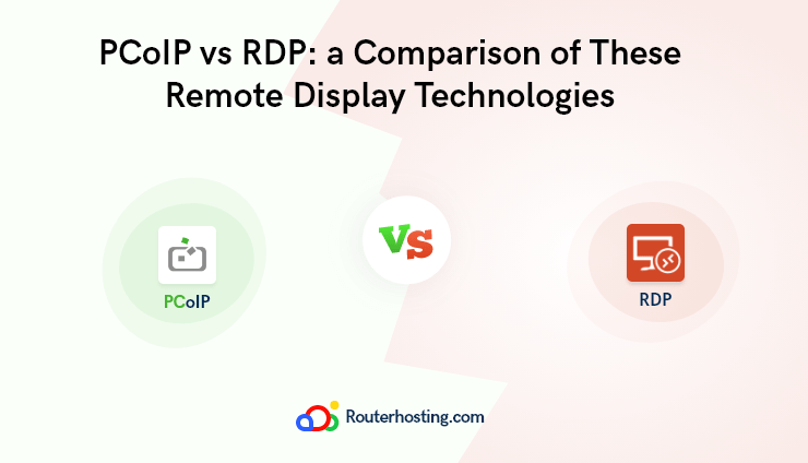 What is the difference between VMware Blast, PCoIP, and RDP?