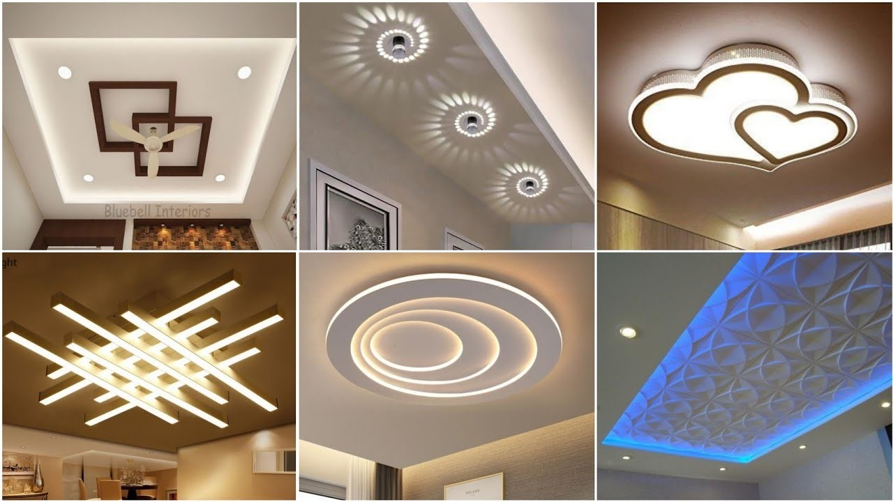 How is LED lighting essential in high ceiling areas