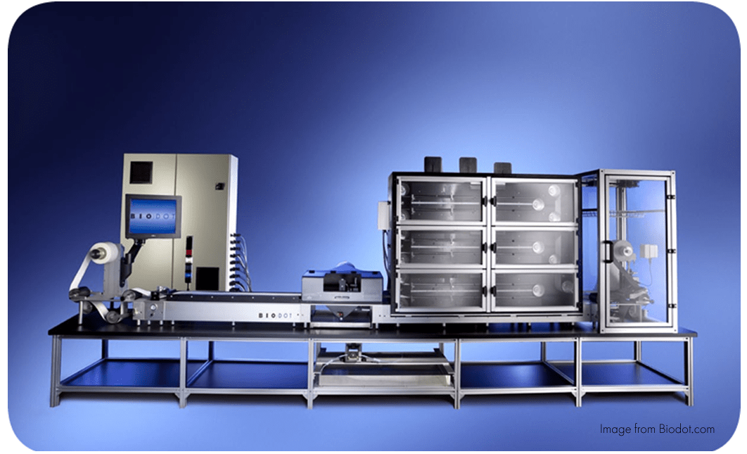 lateral flow assay equipment manufacturing
